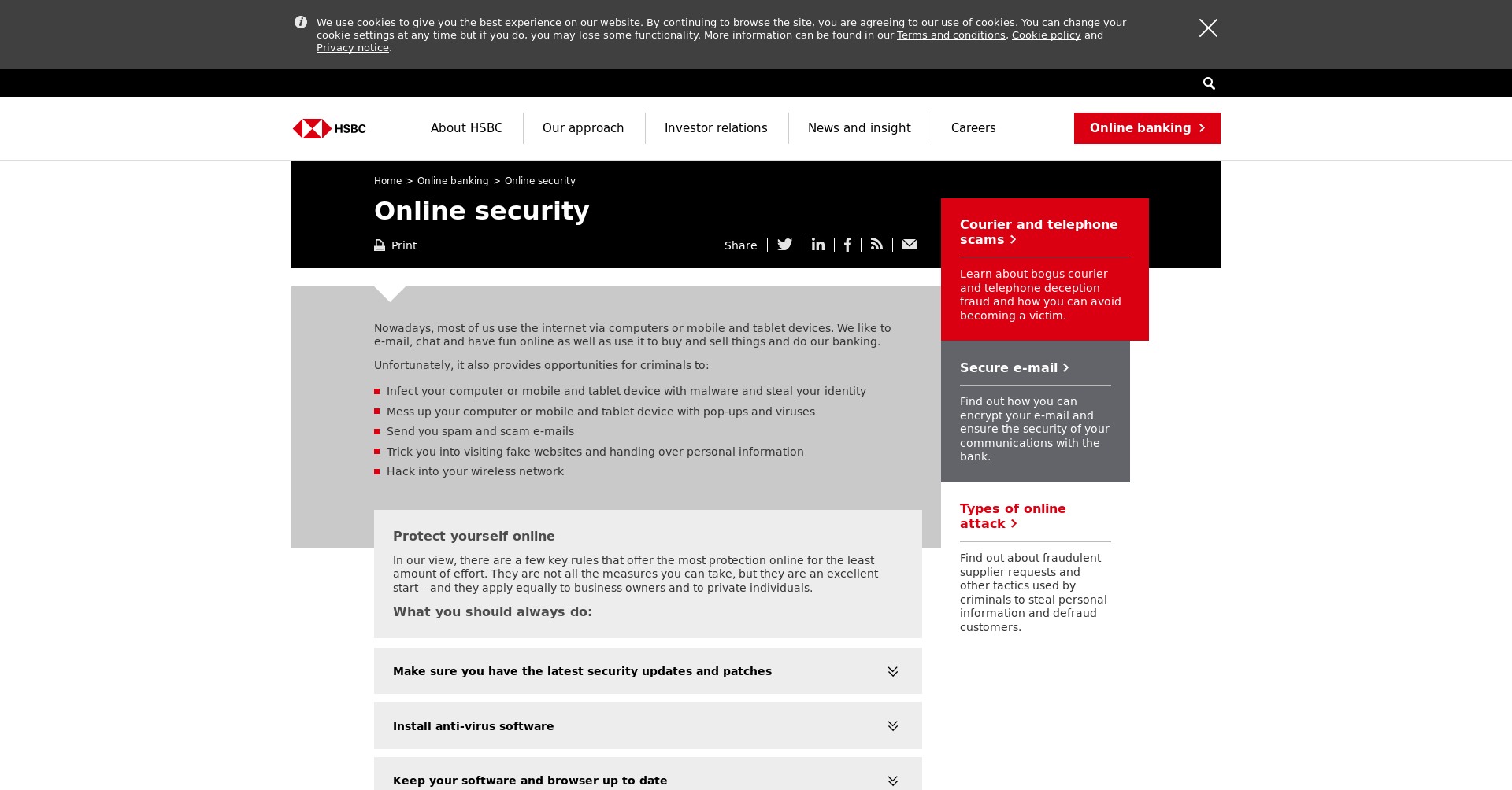 Hsbc Online Home Banking